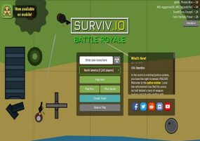 What are new things added to Surviv.io recently?